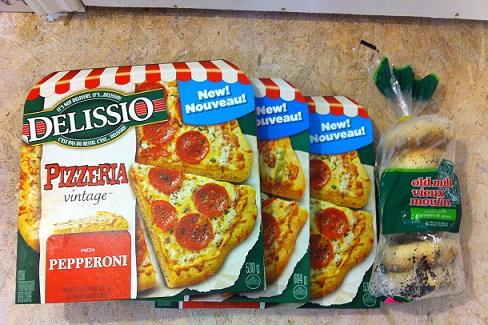 delissio pizza pc plus points program