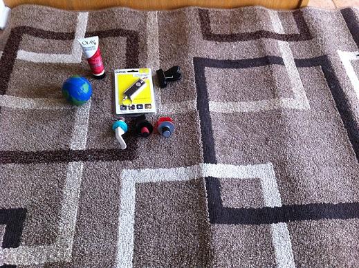area rug garage sale