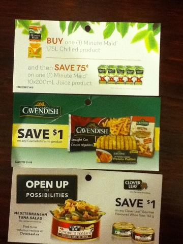 coupons Septemeber 2014 Canada