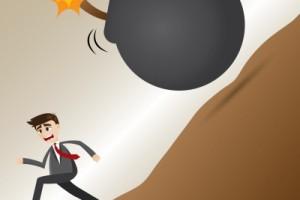 Financial mistake bomb