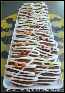 Mummy Cookies Halloween