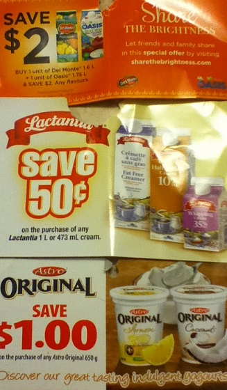 October Canadian Coupons 2014