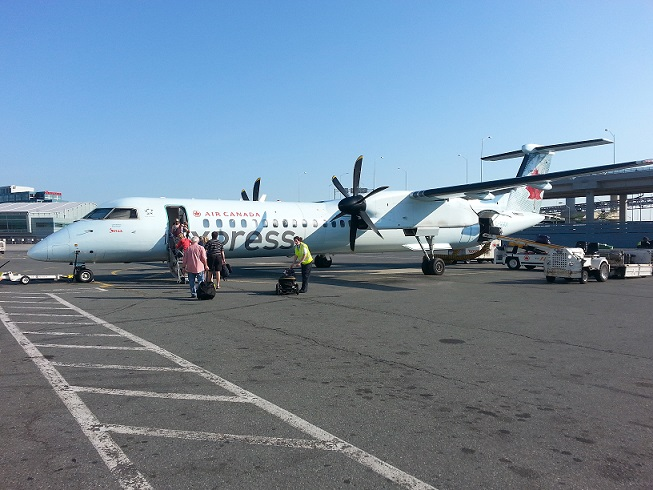 Air Canada Express Airplane travel expenses