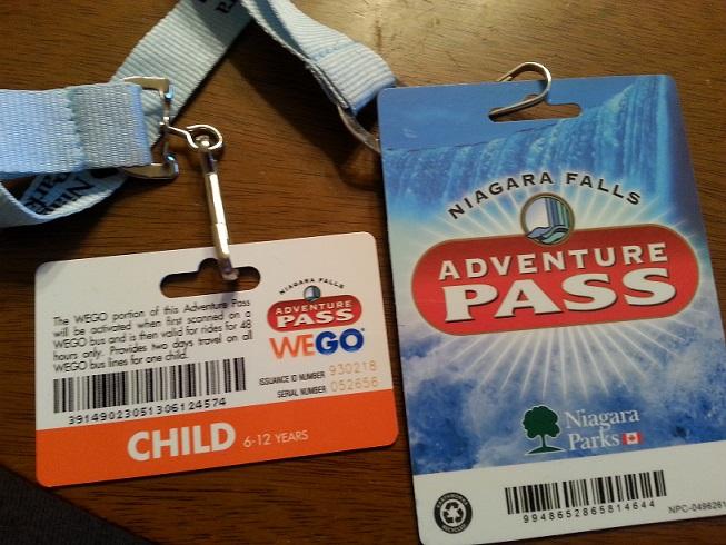 Niagara Falls Adventure Pass