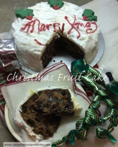 Christmas Fruit Cake wm