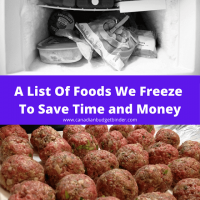 freeze foods