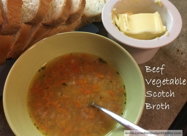 Beef Vegetable Scotch Broth
