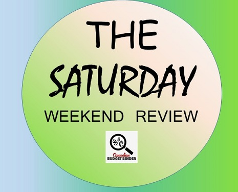 The Saturday Weekend Review logo- gas prices