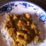 Easy Chicken Curry In A Hurry