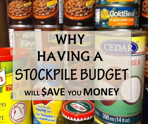 Why Having A Stockpile Budget Will Save You Money: The Grocery Game Challenge 2015 #1 Jan 5- 11