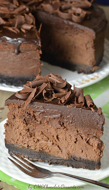 double chocolate oreo cheesecake