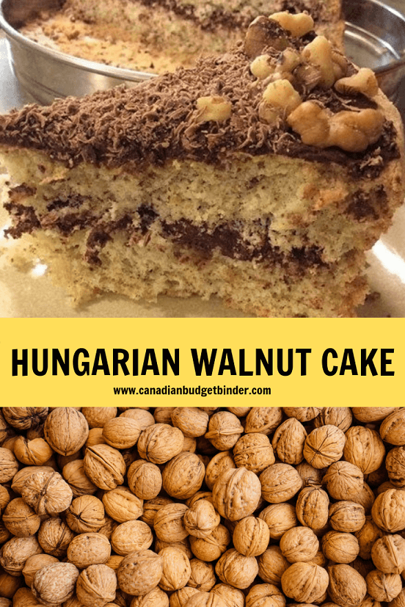 HUNGARIAN WALNUT CAKE