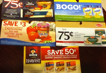 March grocery Game Coupons 2015