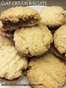 Oat Cream Biscuits