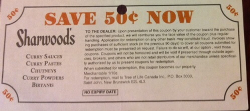 Sharwoods Coupons(1)