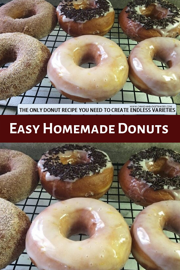 easy homemade donuts