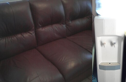 free leather couch colleen