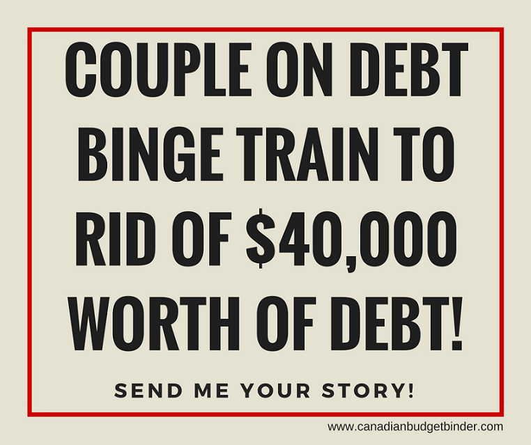 Couple on Debt Bingetrain to rid of $40,000 worth of debt!-1