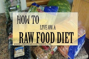 HOW TO LIVE ON A RAW FOOD DIET