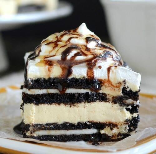 Salted Oreo Icebox Cake(1)