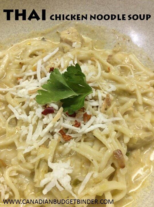 Thai Chicken Soup 2