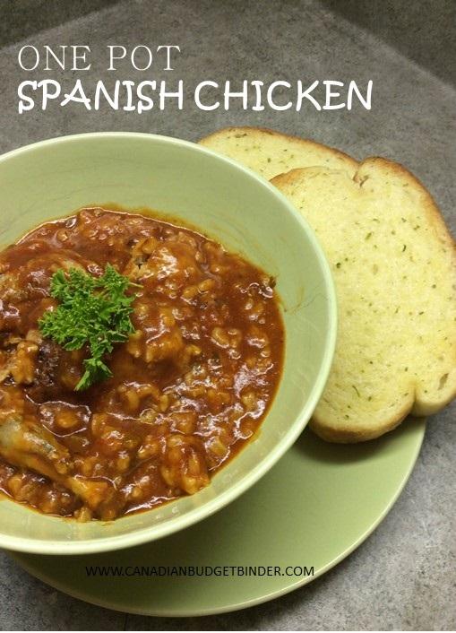 One Pot Spanish Chicken 2
