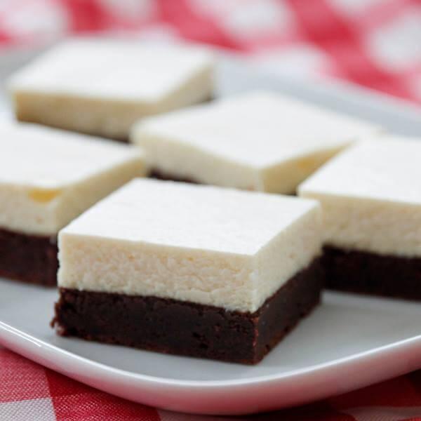 brownie bottom cheesecake bars