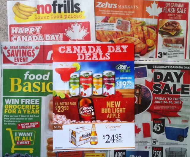 Canada Day Flyers Toronto