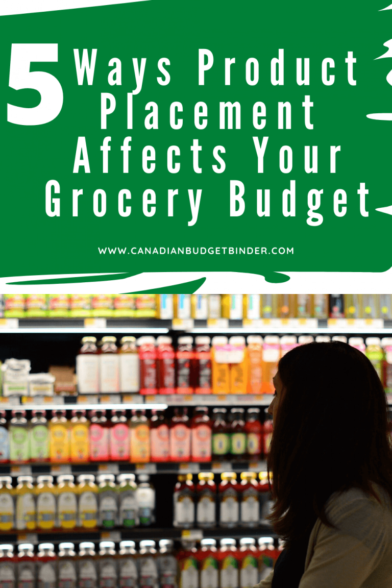 5 Ways Product Placement Affects Your Grocery Budget
