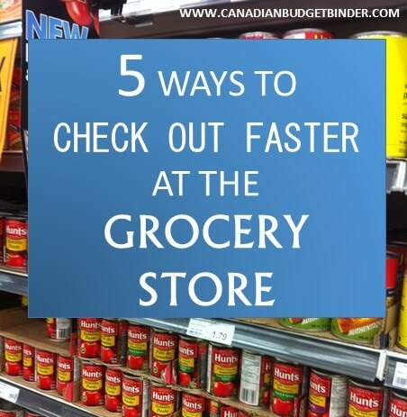 5 Ways to Check Out Faster at the Grocery Store: The Grocery Game Challenge #2 July 13-19, 2015