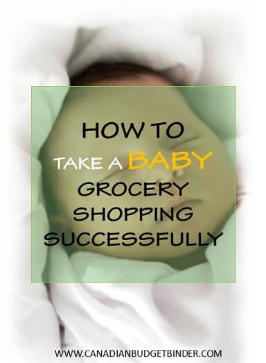 How To Take A Baby Grocery Shopping Successfully The