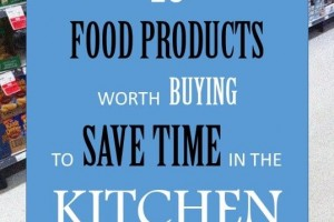 10 food products worth buying to save time in the kitchen