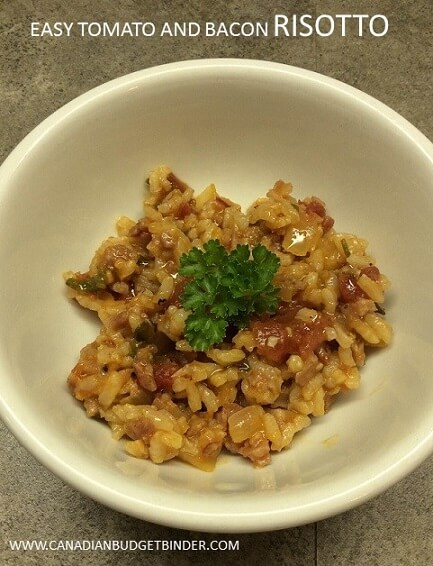 EASY TOMATO AND BACON RISOTTO(1)