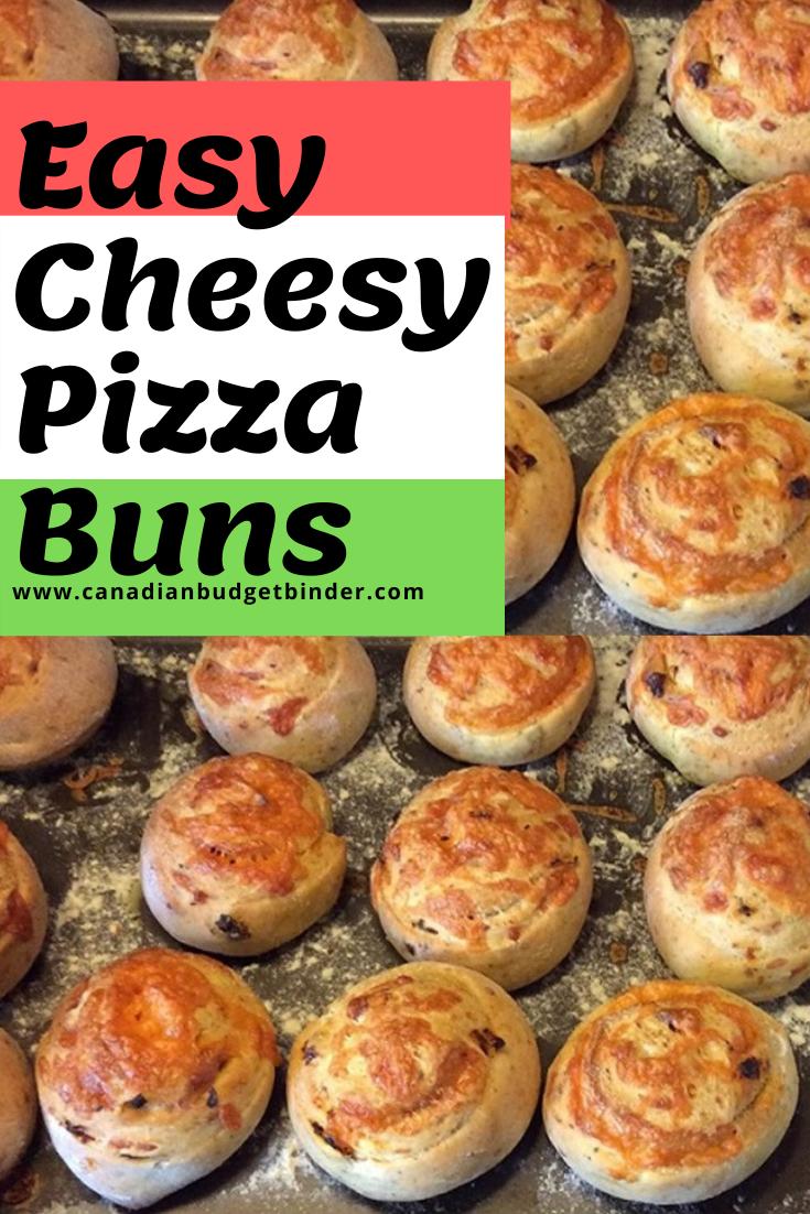 Easy Cheesy Pizza Buns