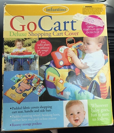 Infantino Go Cart deluxe shopping cart cover