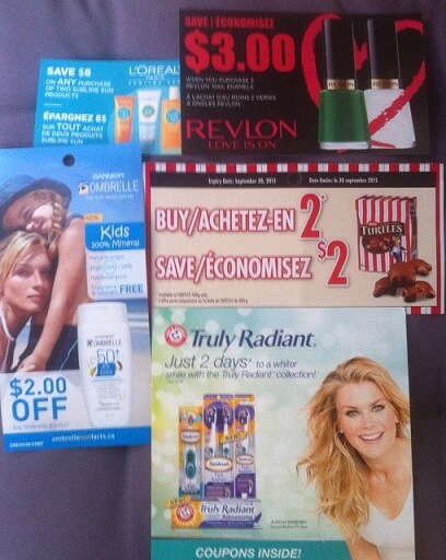 September Canadian Coupons 2015