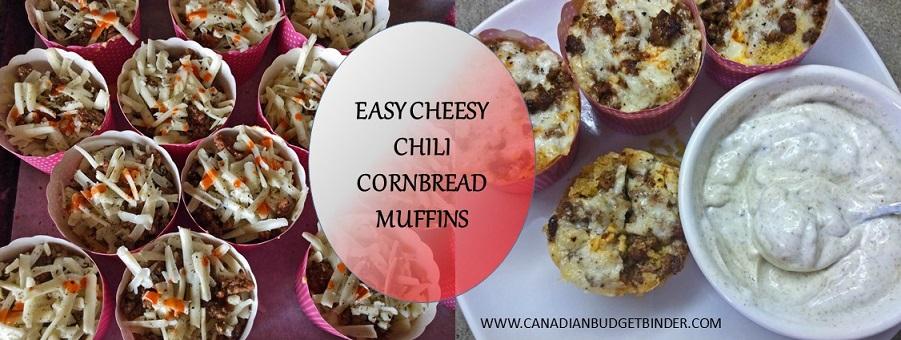Easy Cheesy Chili Cornbread Muffins Cover 2