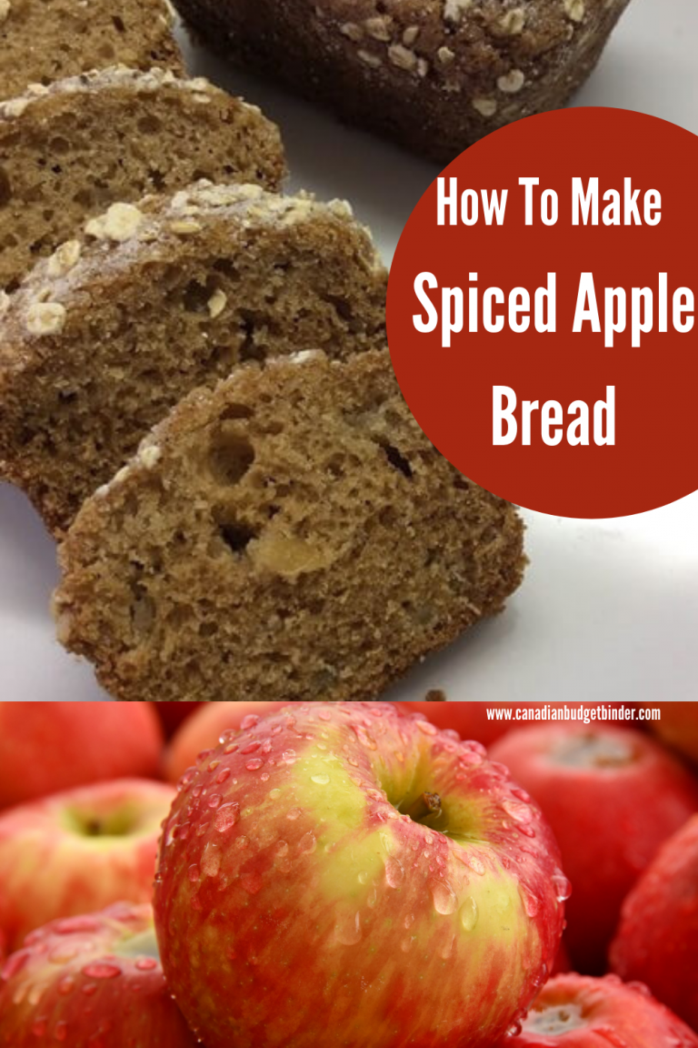 How To Make Easy Spiced Apple Bread