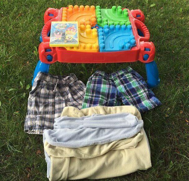 Jens garage sale deals Aug 20, 2015