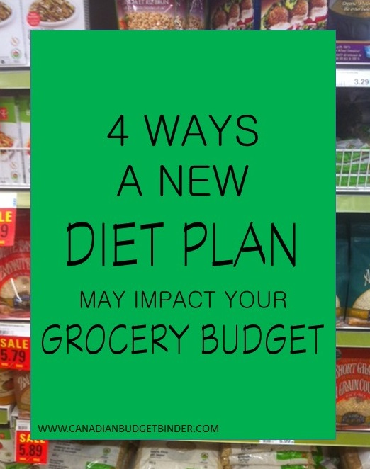 4 Ways A New Diet Plan May Impact Your Grocery Budget :The Grocery Game Challenge #4 Oct 26-Nov 1, 2015