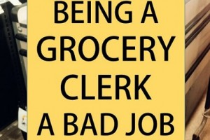 grocery store clerk job