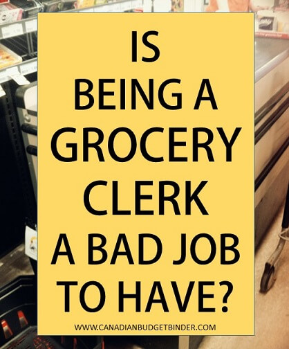 Is Being a Grocery Clerk a Bad Job? : The Grocery Game Challenge #2 Oct 12-18,2015