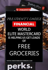 THE PRESIDENT'S CHOICE WORLD ELITE MASTERCARD (1)