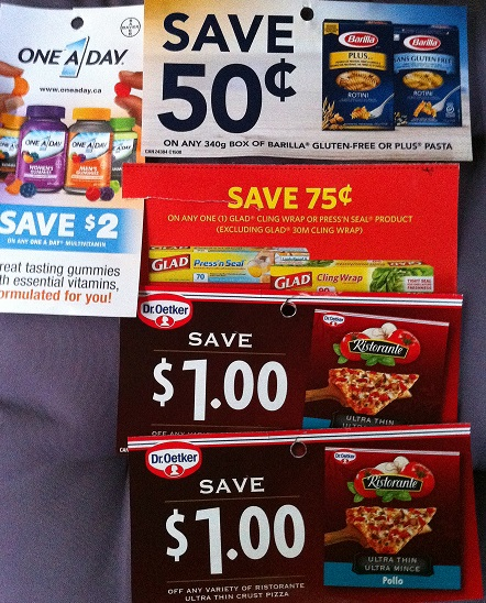 grocery store coupons Canada October 2015