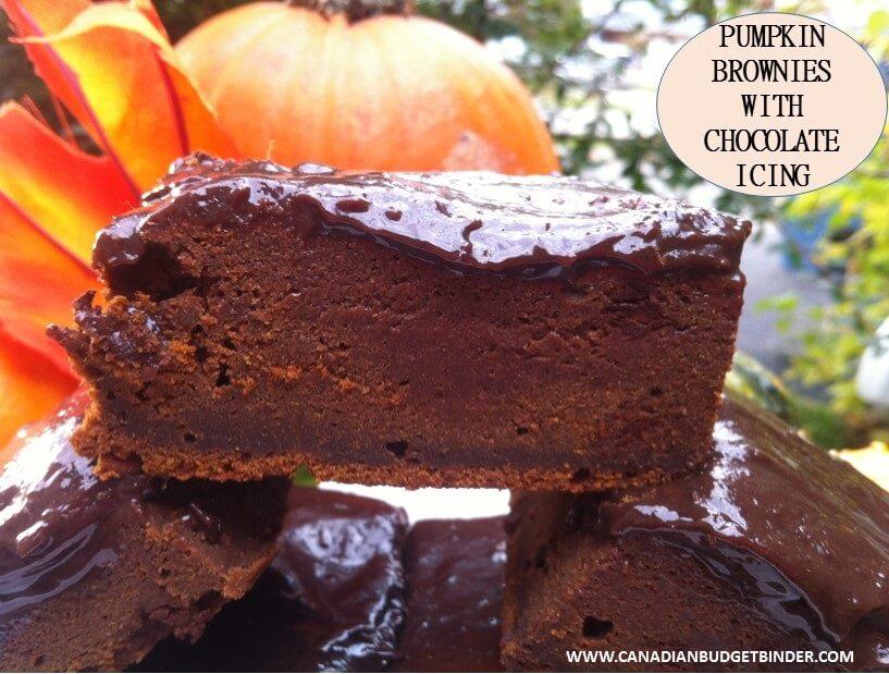 pumpkin brownies cover