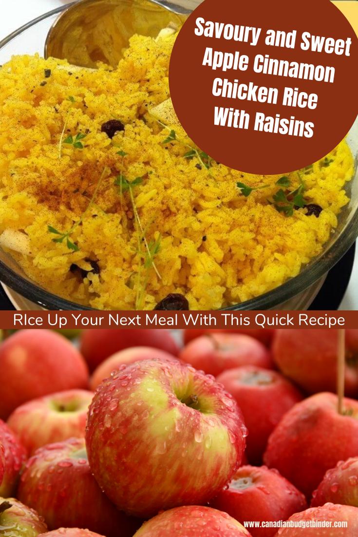 Savoury And Sweet Rice