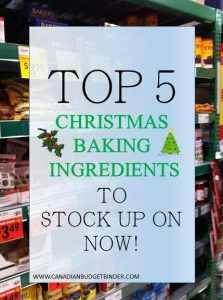 TOP 5 CHRISTMAS INGREDIENTS TO STOCK UP ON NOW (1)