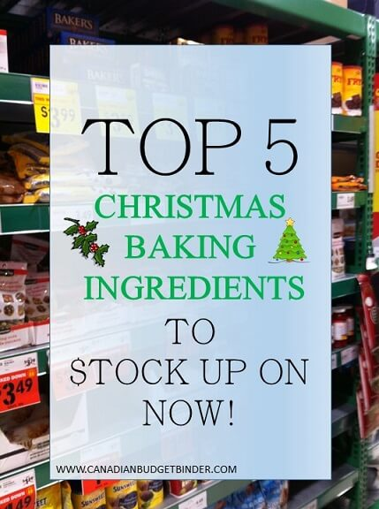 TOP 5 CHRISTMAS BAKING INGREDIENTS TO STOCK UP ON NOW (1)