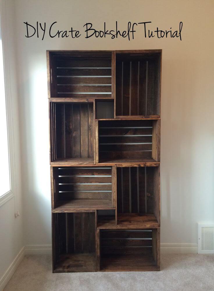 diy crate bookshelf(1)