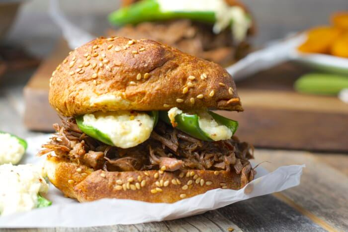 shredded beef and jalepeno popper burgers(1)